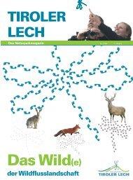 Das Naturparkmagazin - Naturpark Tiroler Lech