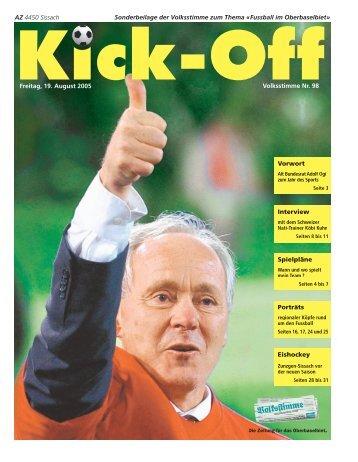 Kick-Off 2005 - Volksstimme