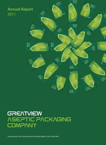 Annual Report - GREATVIEW ASEPTIC PACKAGING COMPANY