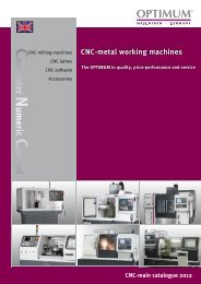 Cnc-metal working machines - Aircraft