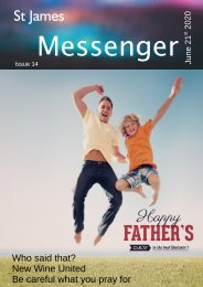 Issue 14 - The Messenger - 21st June 2020
