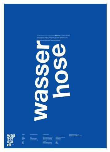 wasser hose - Wasserstadt Zürich