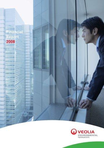 Financial Report 2008 - Veolia Environmental Services