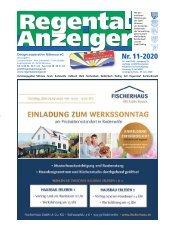 Regental-Anzeiger 11-20