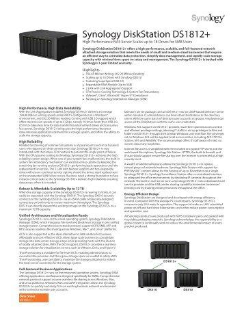 Synology DiskStation DS1812+