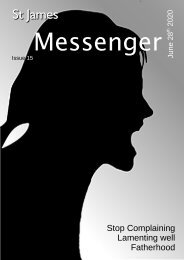 Issue 15 -The Messenger - 28th June 2020