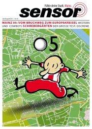 Mainz 05: voM Bruchweg zuM europakreisel ... - sensor Magazin