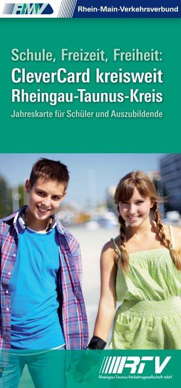 CleverCard kreisweit Rheingau-Taunus-Kreis - RMV