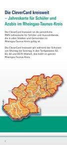 CleverCard kreisweit Rheingau-Taunus-Kreis - RMV - Seite 2