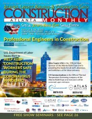 Construction Monthly Atlanta 2020