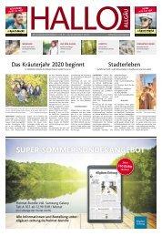Hallo-Allgäu  vom Samstag, 20.Juni