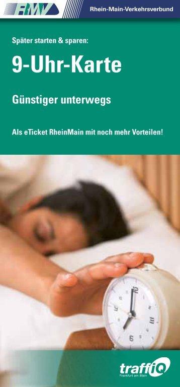 RMV 9-Uhr-Karten (Broschüre) 2013 (PDF, 1.7 - traffiQ