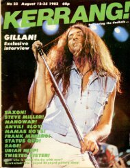Kerrang - 22 1982