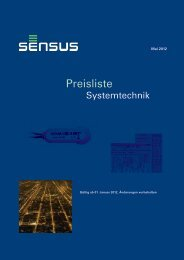 Systemtechnik - Sensus