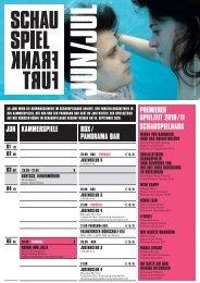 romeo und julia - Schauspiel Frankfurt