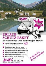 Flyer USP 2010 Seite 1 - AS-Wohnmobil-Vermietung