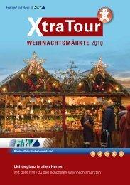 RMV-XtraTour Weihnachtsmärkte 2010