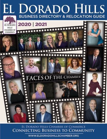 2020/2021 El Dorado Hills Chamber of Commerce Business Directory & Relocation Guide