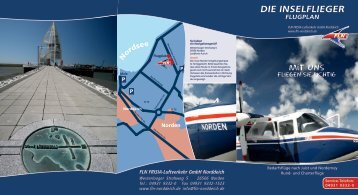DIE INSELFLIEGER - FLN FRISIA-Luftverkehr GmbH Norddeich