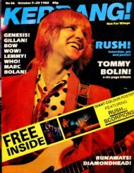 Kerrang - 26 1982