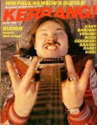 Kerrang - 29 1982