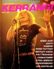 Kerrang - 30 1982