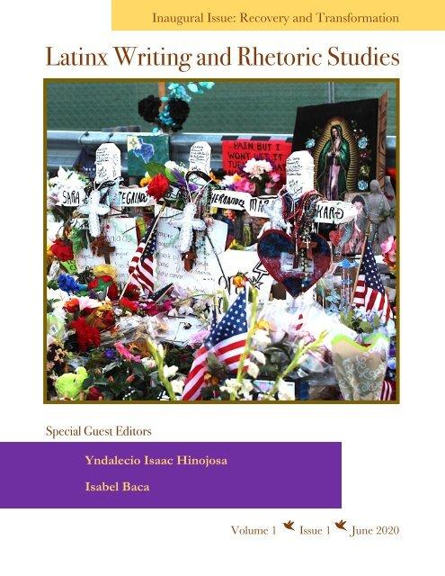 LWRS June 2020 Volume 1, Issue 1