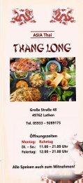 Thang Long Lathen Asia Thai