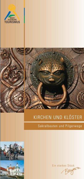 Kirchen und Klöster Augsburg - Regio Augsburg
