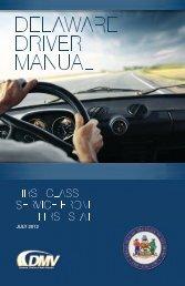 drIVEr LICENSE INFOrMATION - Delaware Division of Motor ...