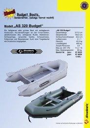 """Modell """"AirStar"""" mit Hartluftboden - Boote Feichtner"""
