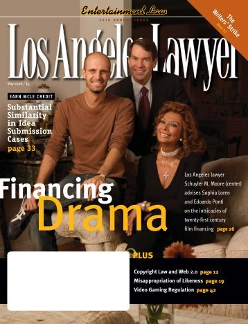Los Angeles Lawyer May 2008 - Los Angeles County Bar Association