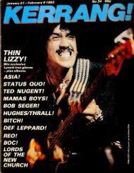 Kerrang - 34 1983
