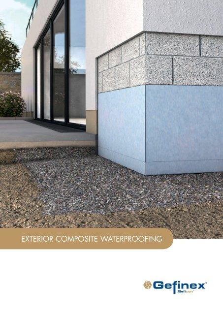 Catalouge Exteriour Composite Waterproofing