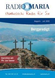 Radio Maria Magazin - Juli 2020