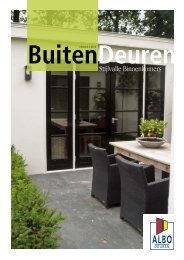 BuitenDeuren - Albo Deuren