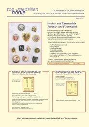Anstecknadeln - Pins - Metallabzeichen (K)