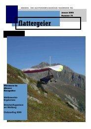 im flatti 73, Seite 6 - Drachen und Gleitschirmclub Tegernsee