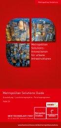 Metropolitan Solutions Guide - InnoZ