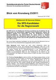 Sozialdemokratische Partei Deutschlands - SPD-Ortsverein ...