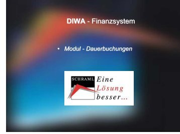 DIWA - Finanzsystem