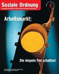 Arbeitsmarkt: Damals – heute – morgen - CDA Nordrhein-Westfalen