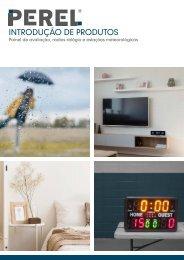 Introdução de Produtos - Painel de avaliação, Rádios-relógio e estaç~pes meteorológicas