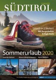Südtirol Magazin Sommer 2020 - WamS