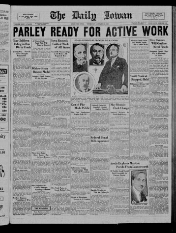 R. - The Daily Iowan Historic Newspapers - The University of Iowa