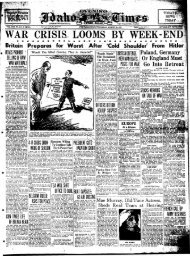 WAR CRISIS^ LOOMS BY WEEK-ENBP