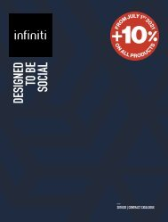 infiniti - contract pricelist