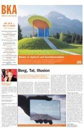 Berner Kulturagenda N° 23