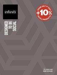 infiniti - contract news pricelist