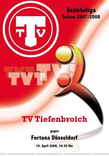Fortuna Düsseldorf - TV Tiefenbroich 1910 e.V.